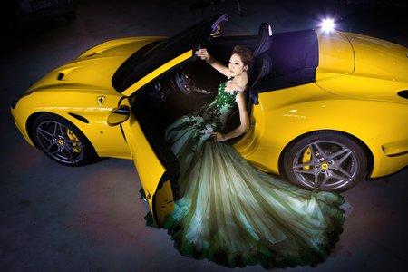超跑創意婚紗