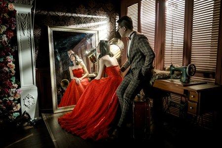 J ART專業攝錄影團隊 / 復古婚紗棚拍