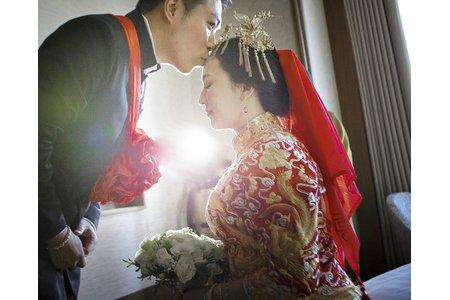台北遠企大飯店迎娶