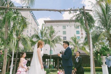 20170708戶外證婚+午宴(台南桂田酒店)