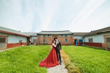 [婚禮紀實]文定之囍|許願池下的浪漫婚禮