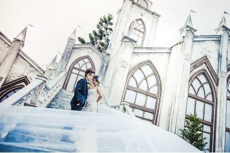 韓系風格自助婚紗