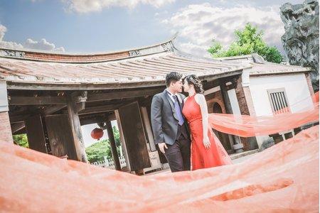 【自助婚紗】伊琳&捷瀚 婚紗照 客選 精修+自選毛片 50組