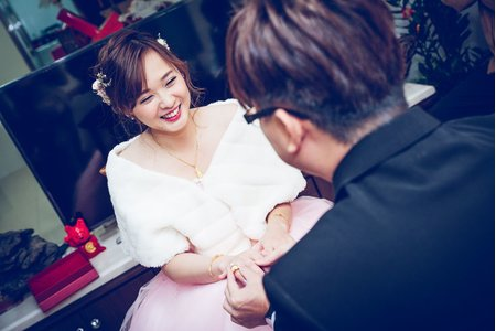 【婚禮紀錄】皇佃&依婷 文定儀式