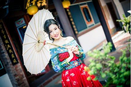 【人像攝影】 綺綺 旗袍主題 藝術寫真