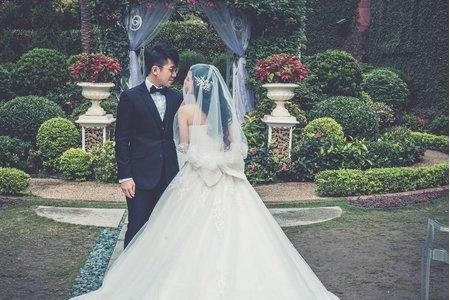 婚禮紀錄 智堯&喬伶 戶外證婚 婚宴 維多麗亞飯店