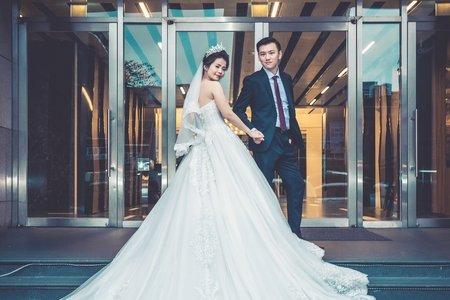 婚禮紀錄 哲廷&芝嫻 迎娶 婚宴 格萊天漾飯店