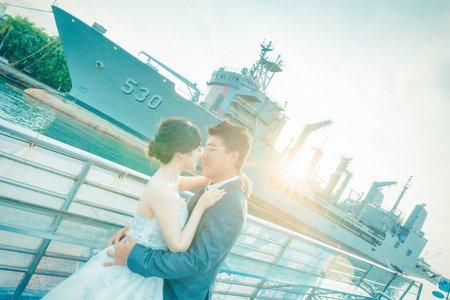 高雄 星光碼頭 渡輪婚紗