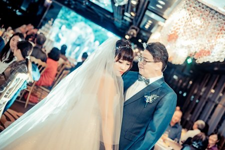 婚禮紀錄 函郁&冠中 純晚宴 彭園會館旗艦店