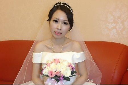 Minnie白紗造型