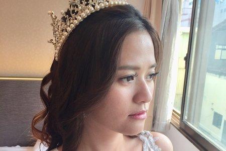 新娘Alice白紗造型