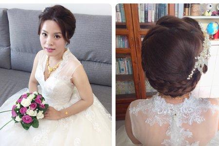 惠結婚白紗造型