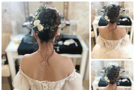 新娘Ruby 白紗造型