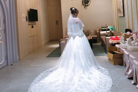 郁茹公主👸白紗造型