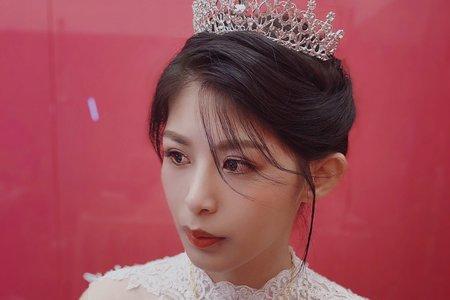 娸娸公主白紗造型
