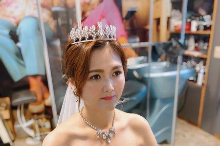 秀真公主👸白紗造型