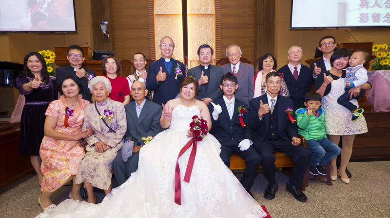 教會婚禮紀錄方案 單人雙機作品