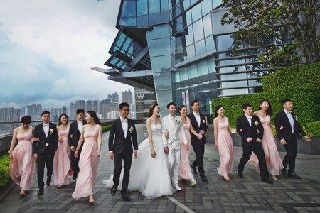 『婚禮紀錄』香港婚禮-麗思卡爾頓酒店