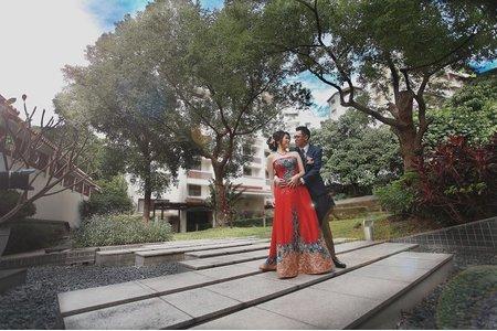[仲男&雅雯] 美麗的戶外類婚紗