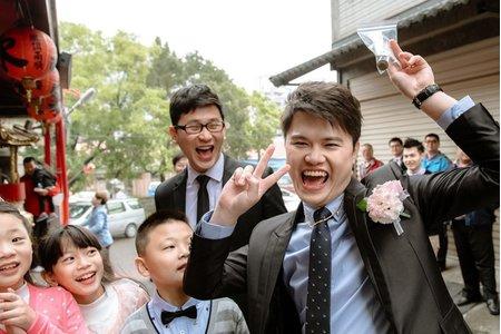 〔婚攝 婚禮紀錄〕迎娶婚宴 / 綠光花園