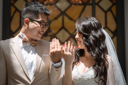 【桃園晶麒莊園】 | 證婚午宴 | Andrea&Bryan – 奔跑少年