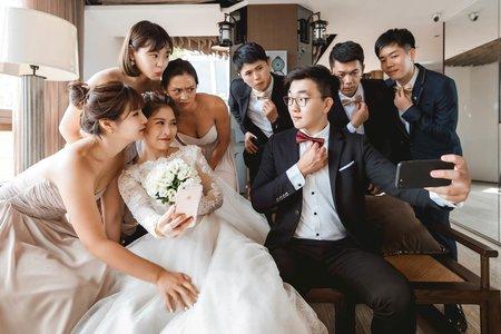 【福容婚攝】桃園福容機場捷運A8 | 婚禮紀錄 | 鈺苓&郁翔 – 奔跑少年