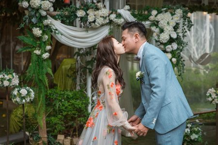 青青婚攝 | 青青食尚花園會館 | 婚禮攝影 | 志中&怡宣 – 奔跑少年