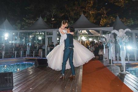 青青婚攝 | 青青食尚花園會館 星池河畔 | 婚禮攝影 | 豐鎮&景唯 – 奔跑少年
