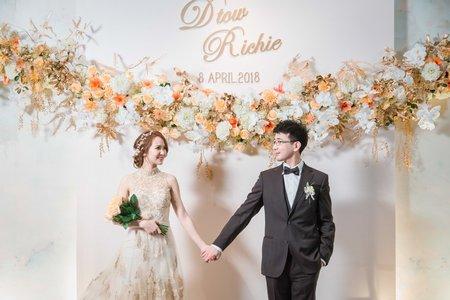 [婚攝] 台南晶英酒店 | 婚禮紀錄 | Richie&Dtou – 奔跑少年