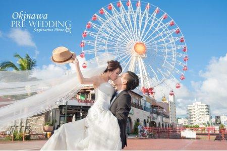 沖繩 京都 海外婚紗