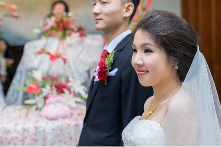 2015-9-26 翰傑 & 心怡 婚禮紀錄(教堂儀式) 婚攝 - 新北市 三峽 金帝王海鮮餐廳