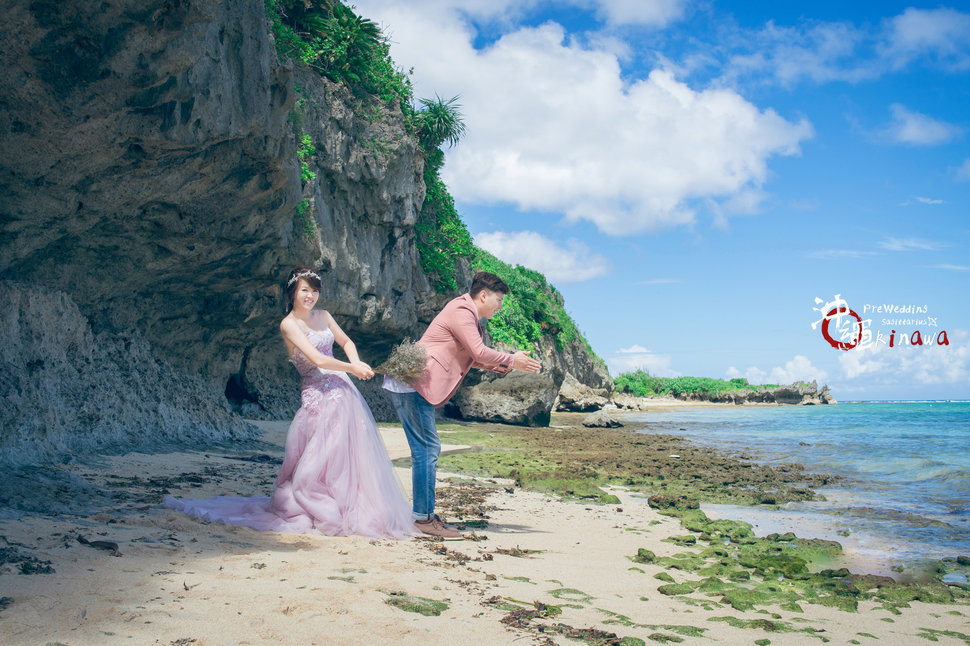 嘉麟 & 胤芳 Overseas Pre Wedding For Okinawa 沖繩海外婚紗(編號:551921) - 射手的天空 / 海外婚紗 婚禮