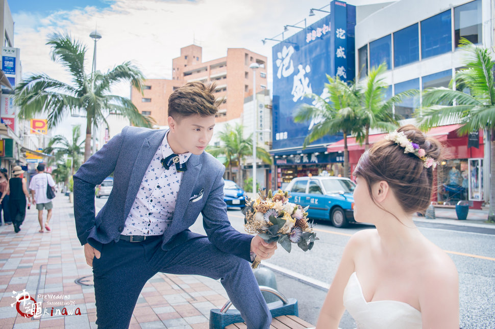 嘉麟 & 胤芳 Overseas Pre Wedding For Okinawa 沖繩海外婚紗(編號:551949) - 射手的天空 / 海外婚紗 婚禮