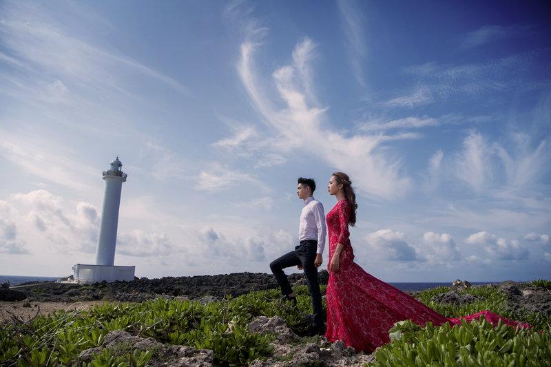 沖繩 海外婚紗作品