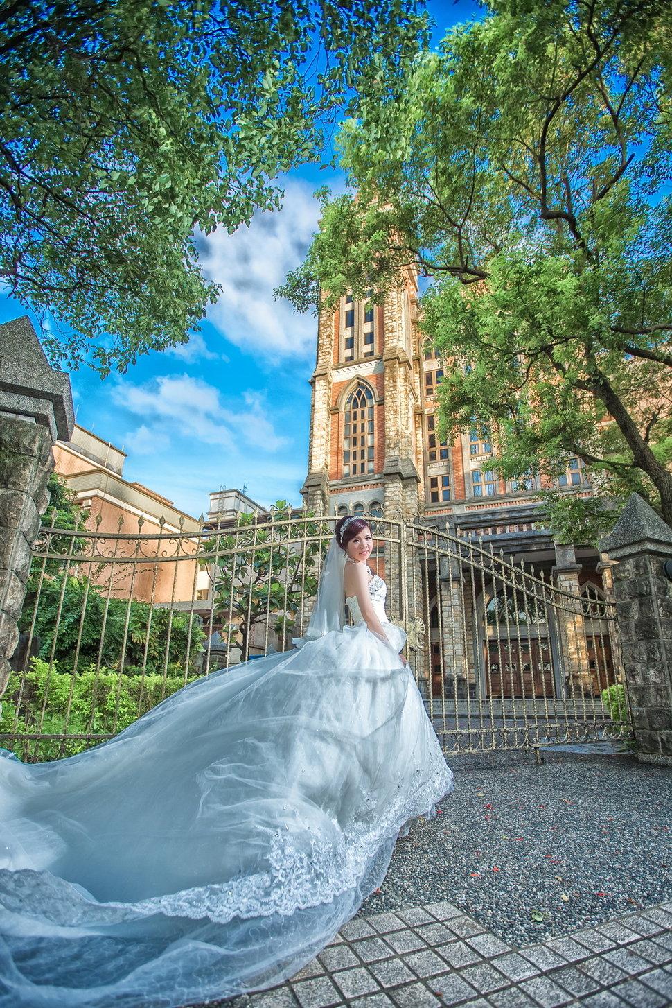 自助婚紗-淡水教堂-婚攝阿卜(編號:433923) - 阿卜的攝影工作室 - 結婚吧一站式婚禮服務平台