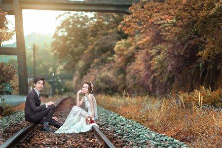 婚紗攝影-望古瀑布