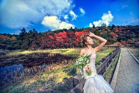 婚紗攝影-櫻花楓葉季