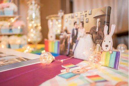 彩虹婚宴|東東宴會式場