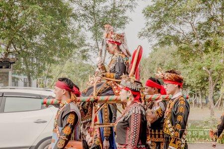 排灣族傳統婚禮[儀式]主平面+副動態