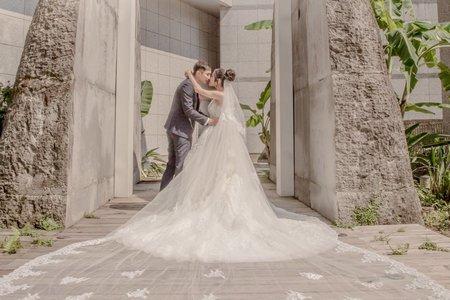 從未想過婚禮拍照可以這麼美 #永和水源會館