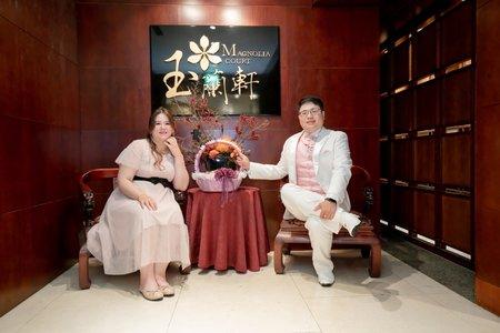 [王朝大酒店] 早上舉行儀式與聯合婚禮,中午溫馨宴客。