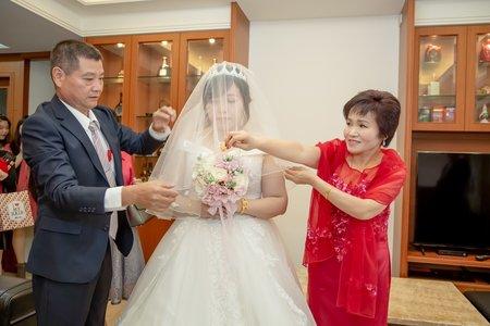 「主平面+副動態」  慶+伶 迎娶儀式