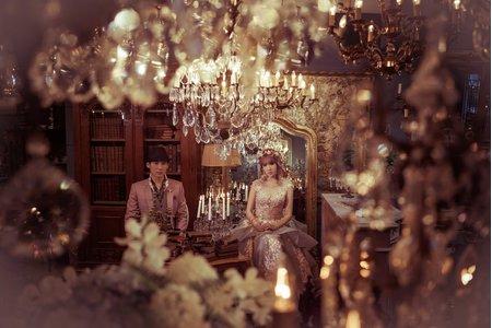 古董店婚紗