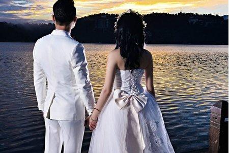 160619日月潭拍日出雙人婚紗創作