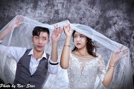 180709 雙人婚紗棚拍