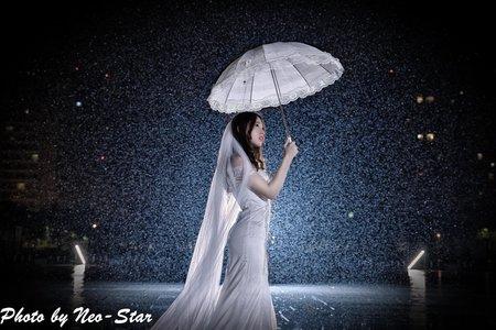 190612 雨中婚紗
