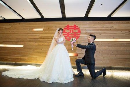 105.11.05 新北文定、迎娶婚宴(新東王餐廳)
