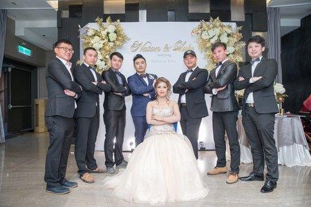 106.11.19 台北證婚婚禮紀錄(彭園婚宴會館台北館)
