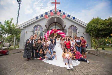 107.11.10 高雄教堂婚禮紀錄(自宅流水席)