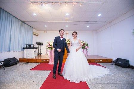 109.01.04 台南婚禮紀錄(教會、香格里拉飯店)